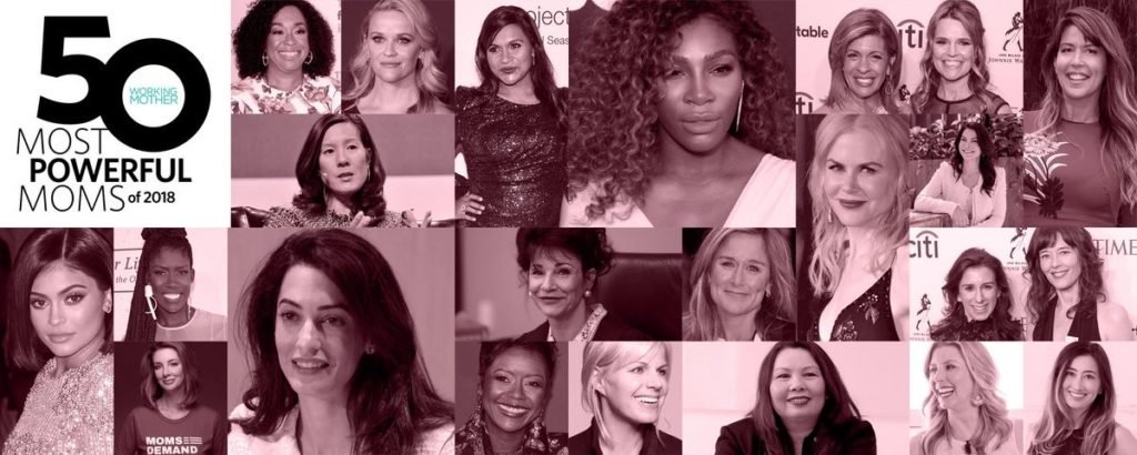 50 Most Powerful Moms of 2018
